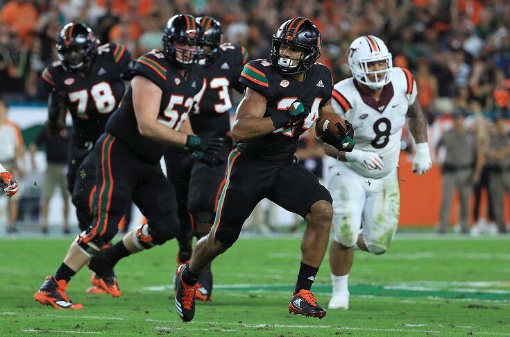 best website 05c6f e35cf Virginia Tech at Miami football 3:30 kickoff favors Hurricanes
