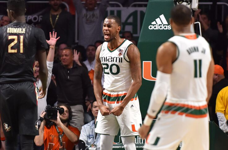 official photos 749cd 55a17 Miami Hurricanes Dewan Hernandez suspension details emerge