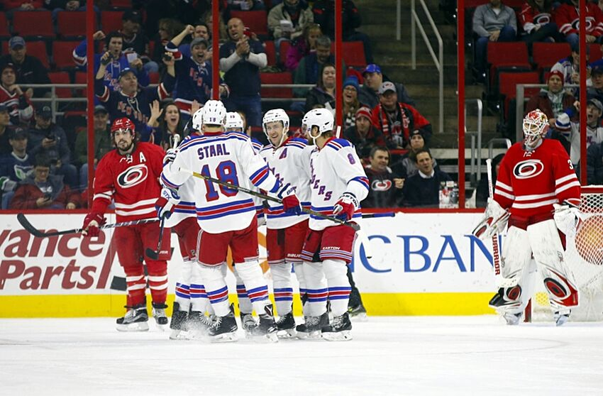Carolina Hurricanes Get Blown Out By New York Rangers