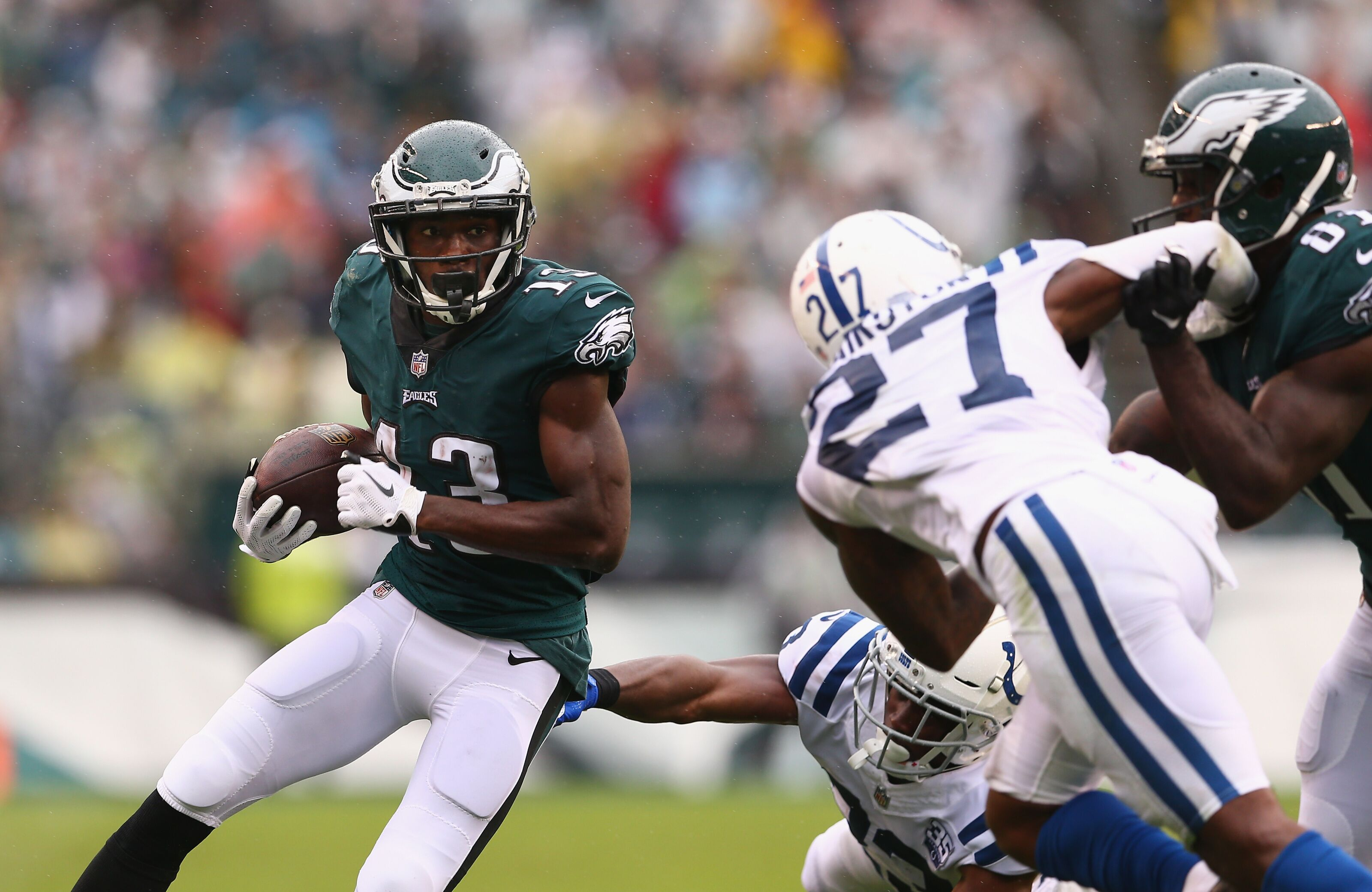 Panthers should be mindful of Nelson Agholor's big-play potential
