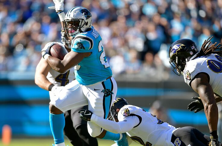 C J  Anderson has been disappointing for Panthers so far