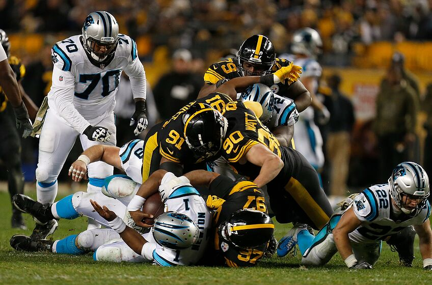 35169ed2a Carolina Panthers report card from Week 10 at Pittsburgh Steelers