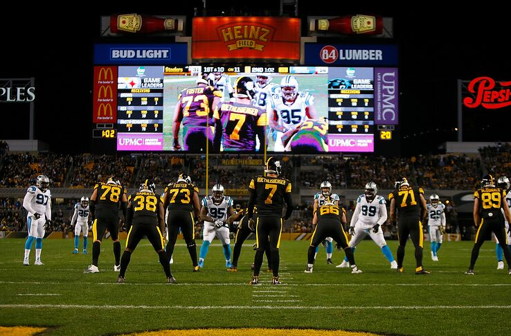 Panthers pounded 52-21 in ugly loss vs  Pittsburgh Steelers