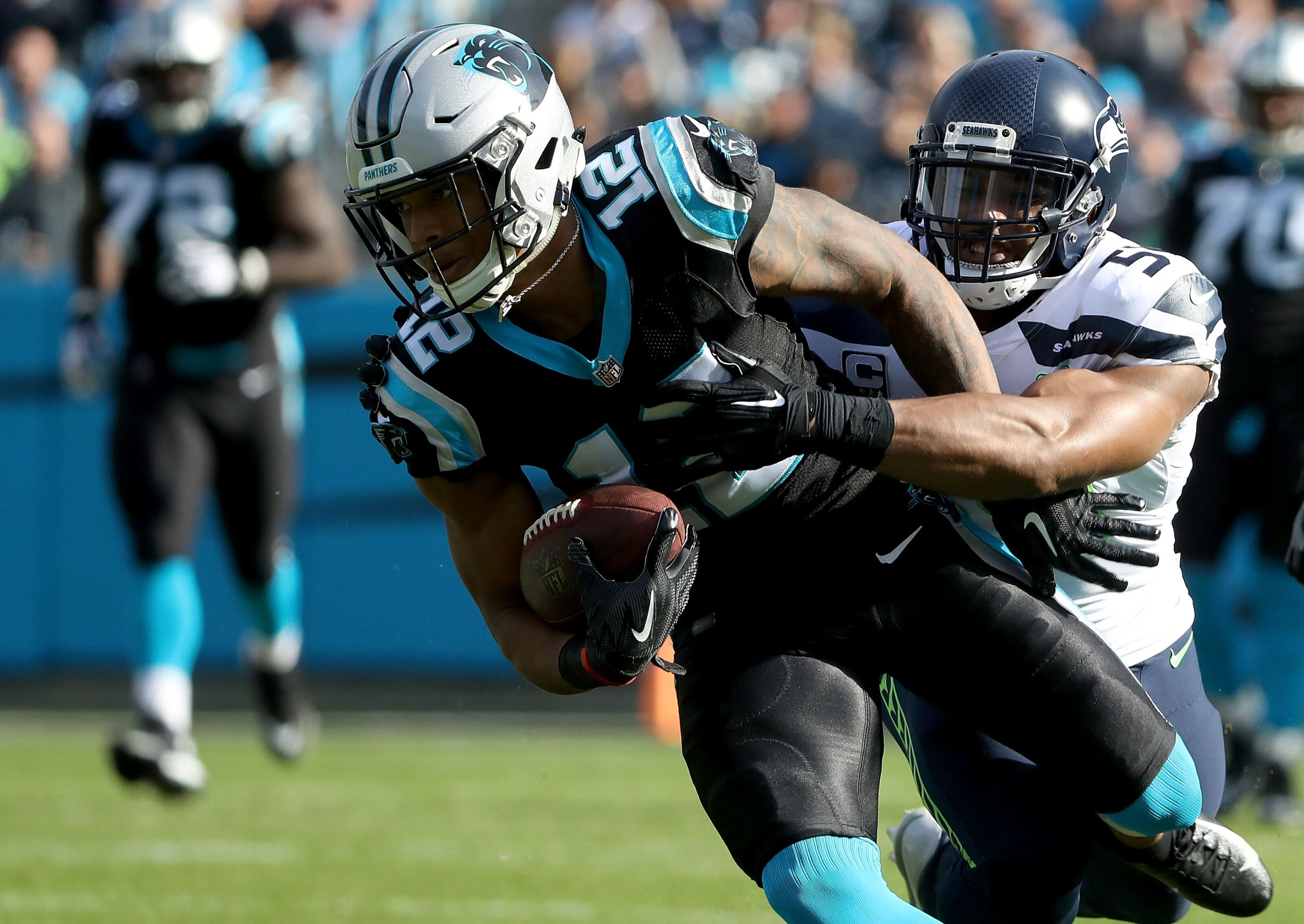 Carolina Panthers: D.J. Moore still the best rookie wide receiver