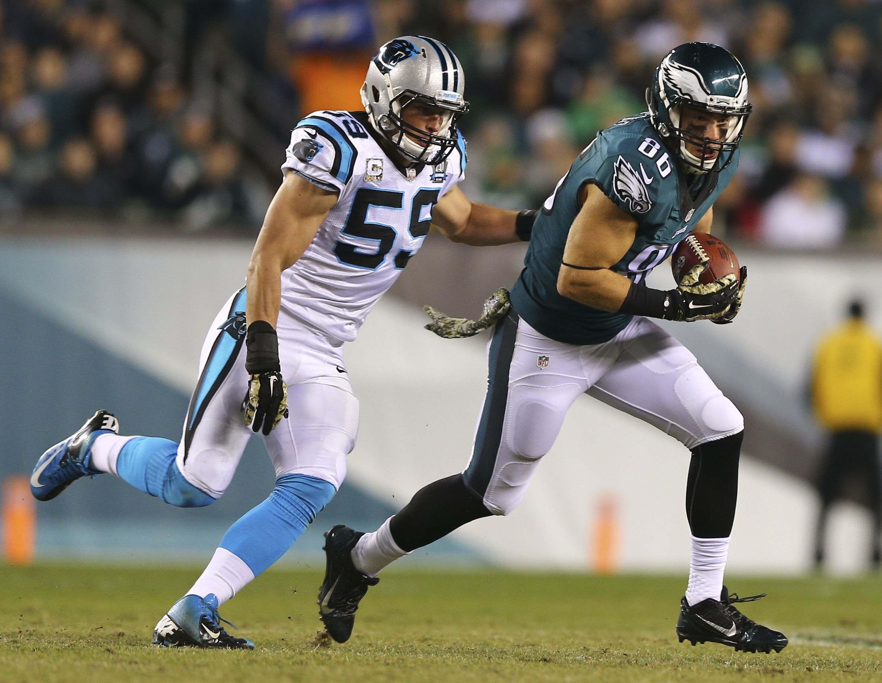 Carolina Panthers stop Philadelphia Eagles tight end, other keys to victory