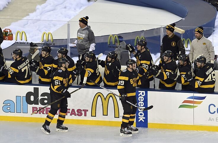 los angeles 6a99e ee8a3 Boston Bruins: Leaving The Winter Classic Behind