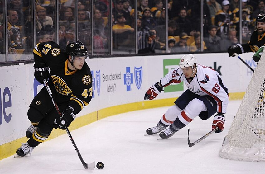 8ad98c53a1c Boston Bruins RFA s  Torey Krug