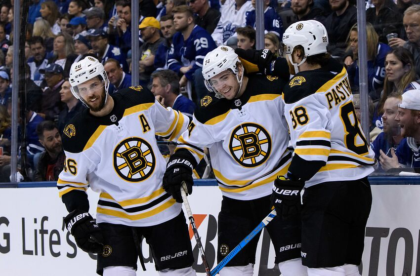 5a9313da171 Boston Bruins: Willingness to play David Pastrnak with David Krejci ...