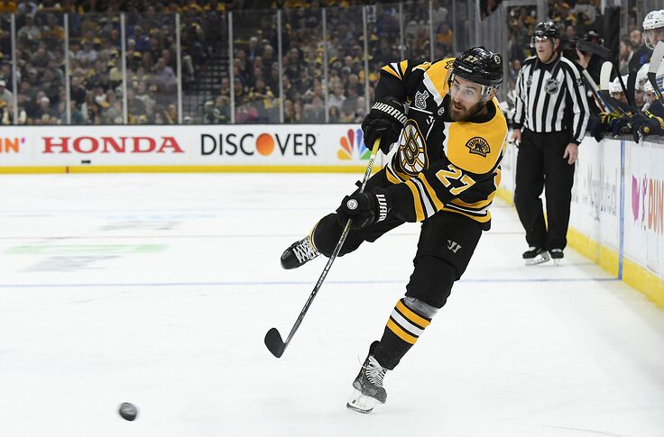 pretty nice 2f6a8 ad973 Boston Bruins: John Moore needs to be moved on sooner rather ...