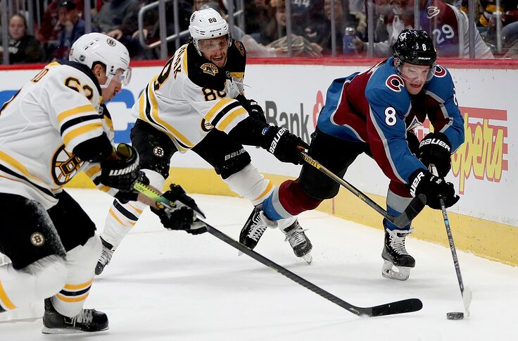 Image result for boston bruins vs colorado avalanche