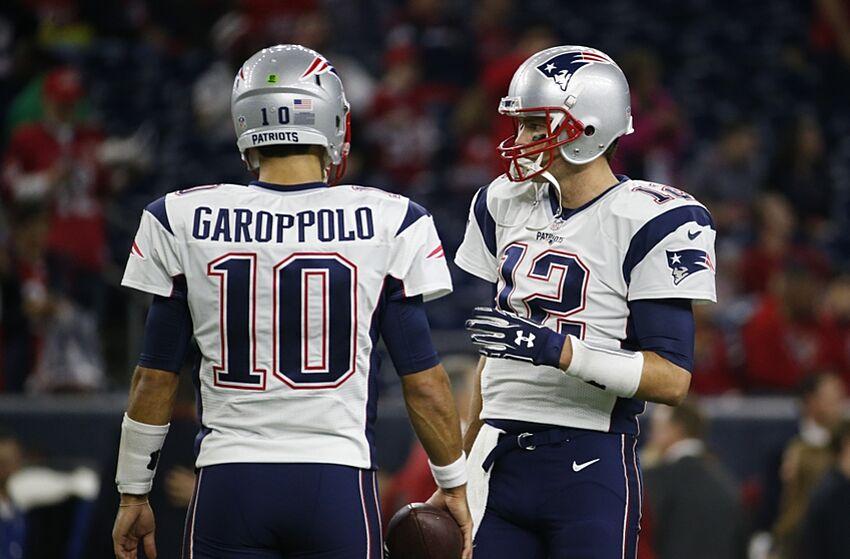 62b4e7abb New England Patriots  Do Not Trade Jimmy Garoppolo