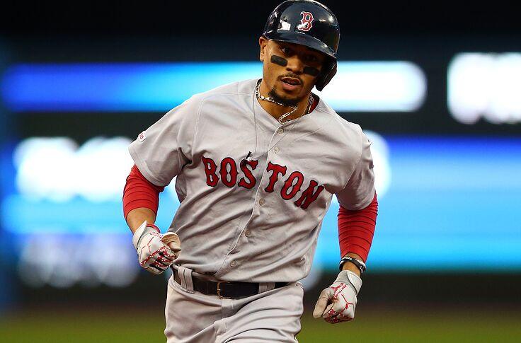 wholesale dealer f3d85 2f474 Boston Red Sox rumors: Mookie Betts return highly unlikely