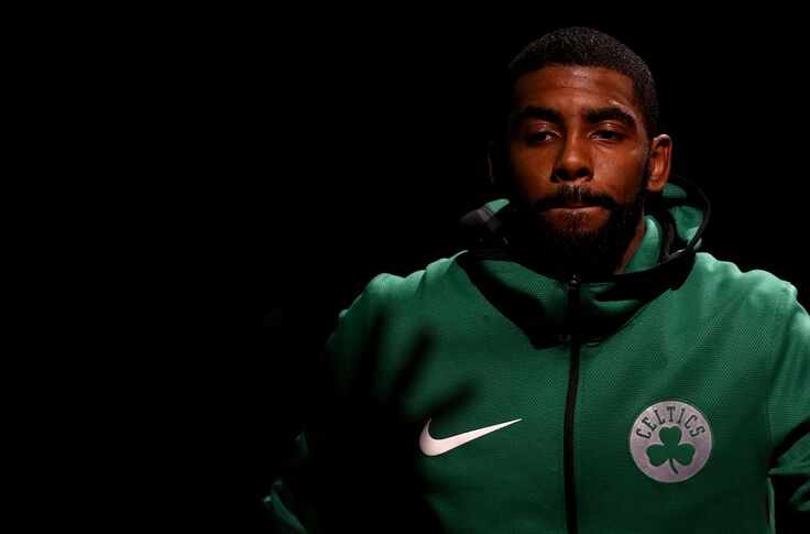 online store ee47b 0eeb6 Boston Celtics: Kyrie Irving would be stupid to leave Boston
