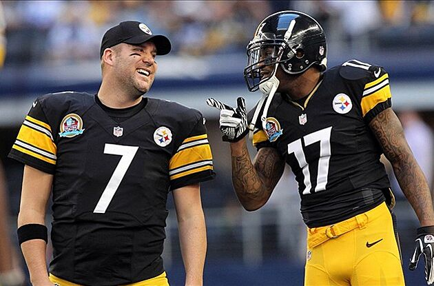 Pittsburgh Steelers could throw snow on Mike Wallace and Dolphins  playoff  charade 1f0eee76f