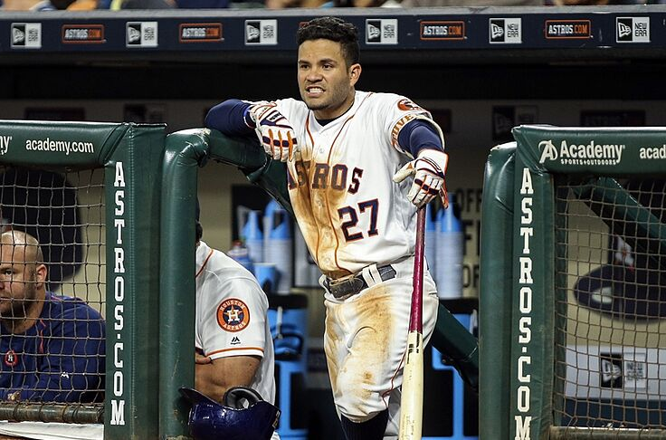sale retailer f2ec4 dd744 Houston Astros Have Back to Back AL Player of the Week Winners