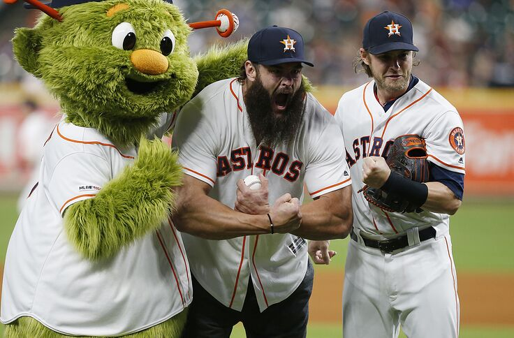 separation shoes 918b1 ccf76 Astros: Houston outfielder Josh Reddick is Burning it Down