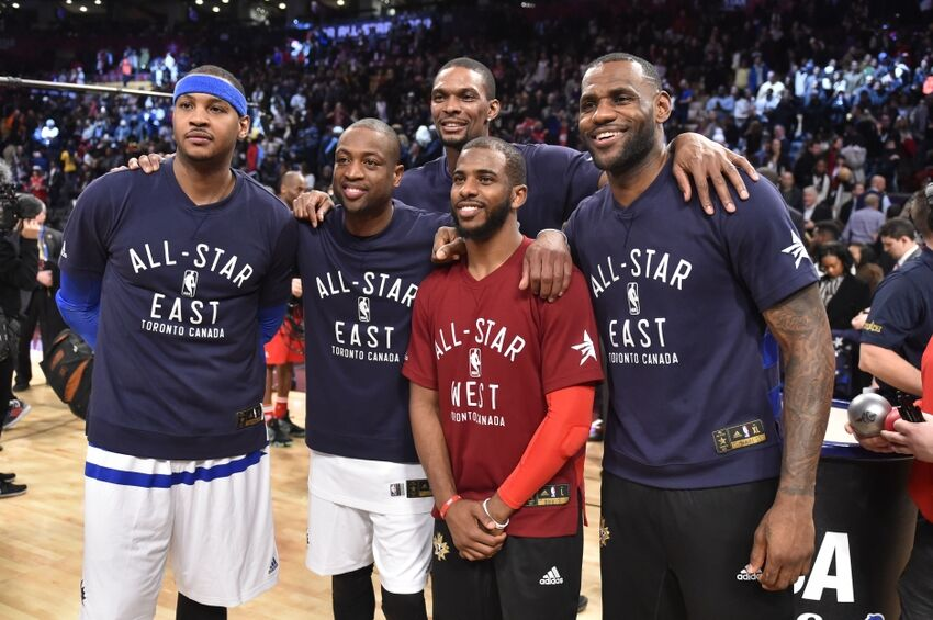 Lebron James Would Take Paycut To Play With Chris Paul Etc