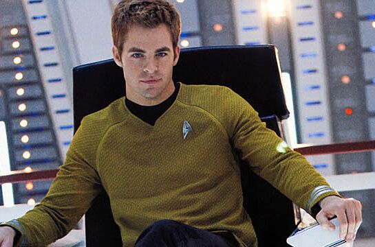 Image result for chris pine captain kirk