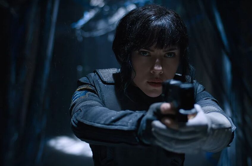 Still From Ghost In The Shell Trailer Image Via Paramount Pictures