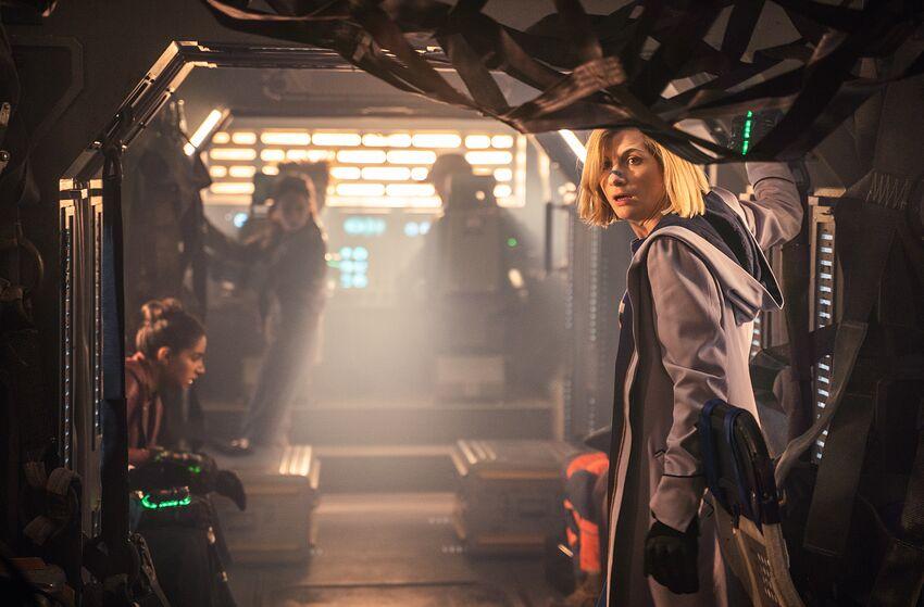Jodie Whittaker as The Doctor - Doctor Who _ Season 12, Episode 3 - Photo Credit: James Pardon/BBC Studios/BBC America