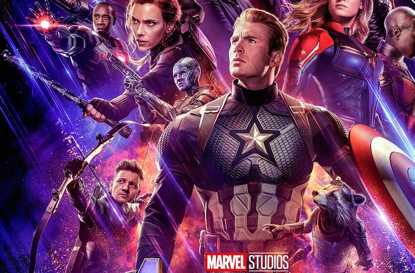Avengers: Endgame (2019) poster. Image: Marvel Studios
