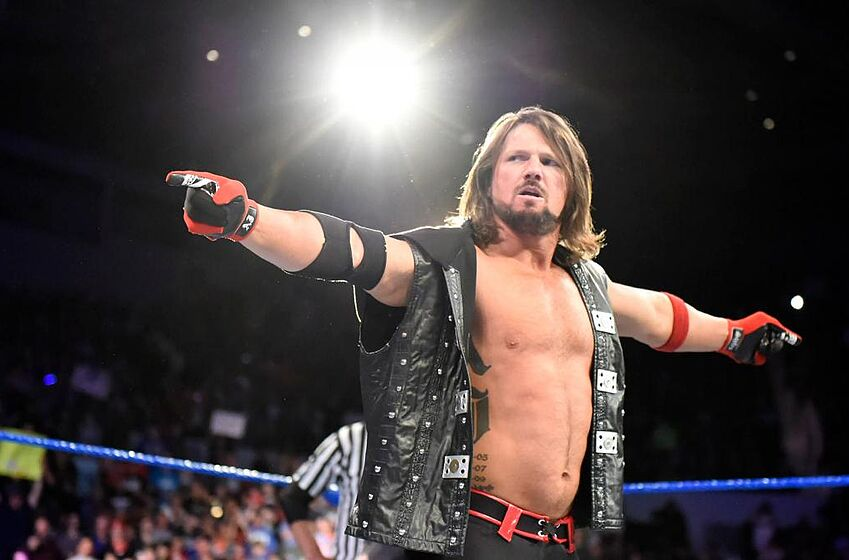 Image result for aj styles money in the bank