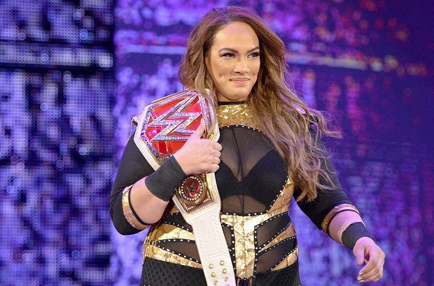 Nia Jax | Wwe female wrestlers, Nia jax, Wwe womens