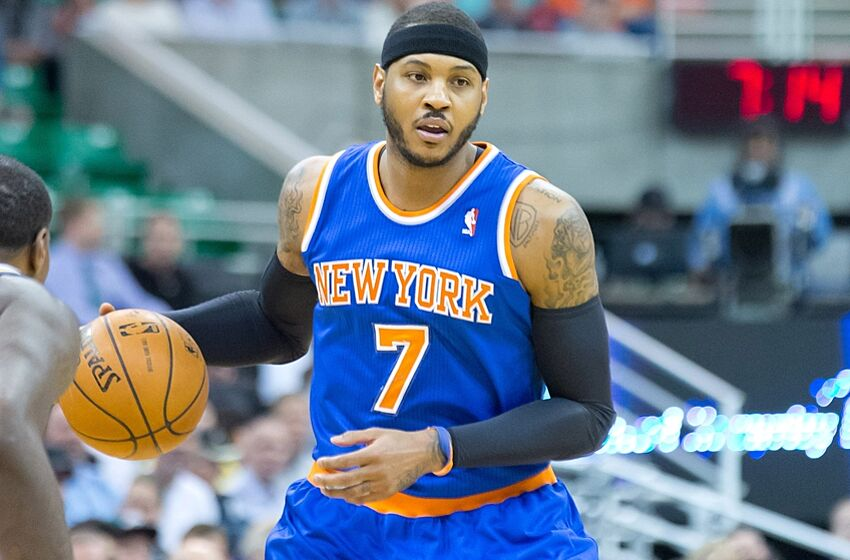 fc831ce30 Carmelo Anthony thinks Knicks are a playoff team