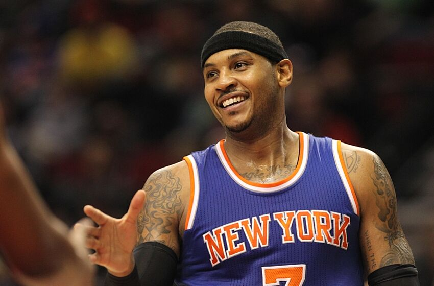 5460c6168 The Knicks are back at the crossroads with Carmelo Anthony