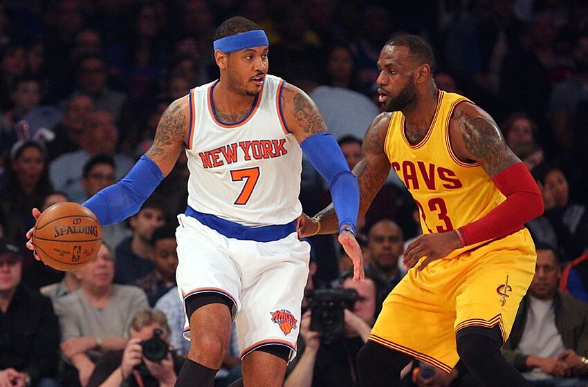 d49b74e73 Knicks News  Carmelo Anthony Talks About His Mindset And Compares ...