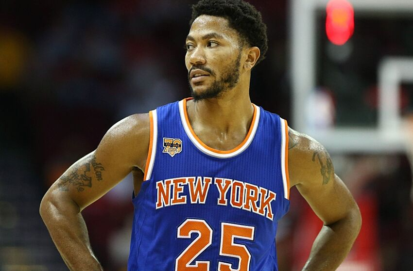 4215c5458294 New York Knicks  Derrick Rose Looks Good