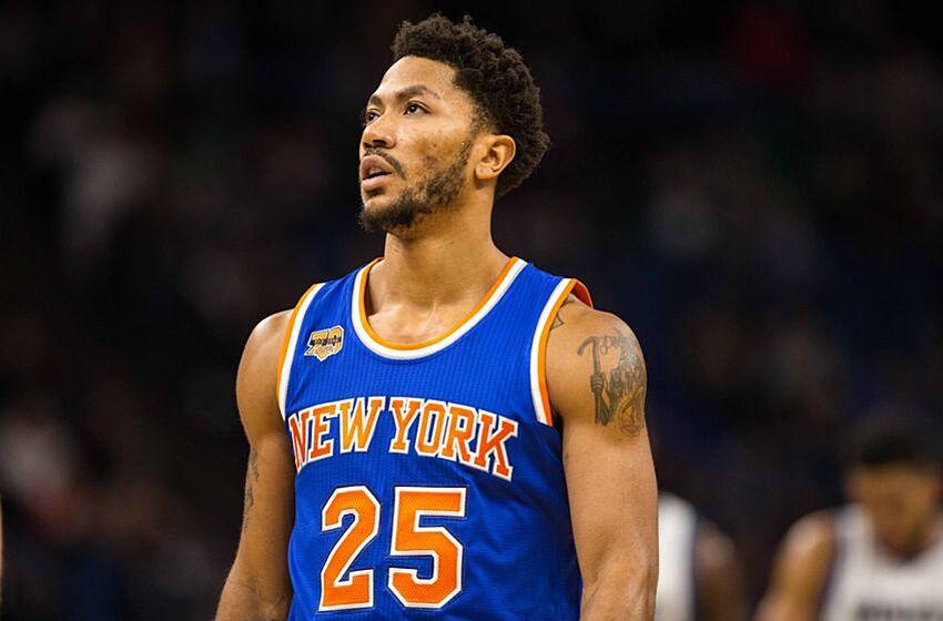 ca632f9d189d New York Knicks Injury Update  Derrick Rose Gets MRI Results