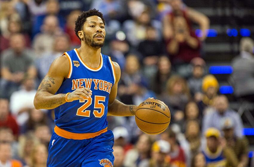 f15bd646b77 New York Knicks  Why Derrick Rose Could Be Traded