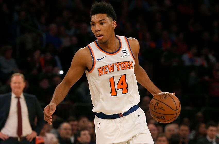 d1cda851b80 New York Knicks: Allonzo Trier loses two-way label, signs two-year deal