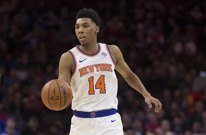 bb2ac982d New York Knicks player grades  Allonzo Trier for 2018-19