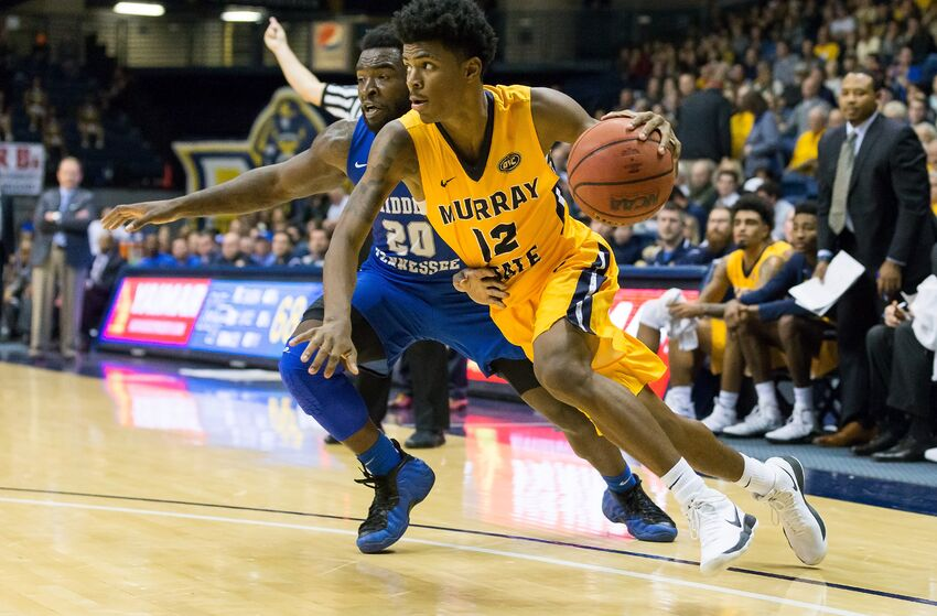 Murray State Ja Morant (Photo by Stephen Furst/Icon Sportswire via Getty Images)