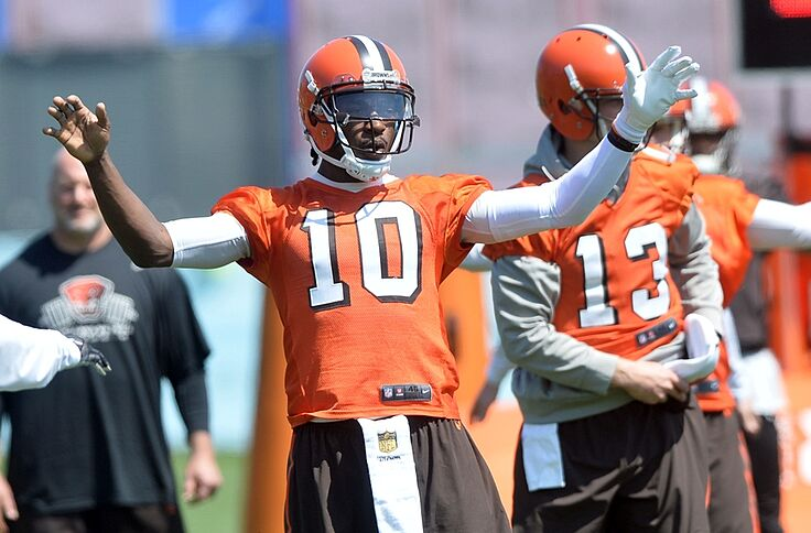 best service 8541b e1613 Cleveland Browns: RG3 has chance to truly end The Jersey