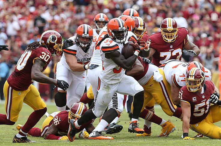 new product 3aa87 f4f18 Cleveland Browns: What to do with running back Isaiah Crowell