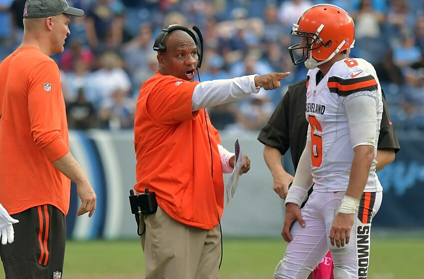Cleveland Browns: Far too early to question Hue Jackson's ...