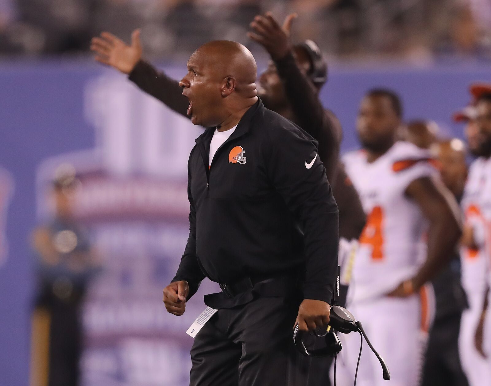 Cleveland Browns: Hue takes more shots in new 'Hard Knocks'