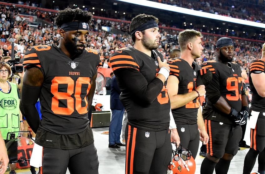 1ee22581942 Cleveland Browns: Baker Mayfield, Jarvis Landry recruiting big-name ...