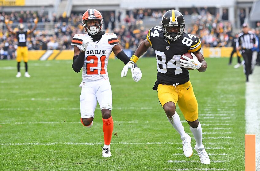 27ccb51d2d7 Cleveland Browns should obviously call Pittsburgh about Antonio Brown