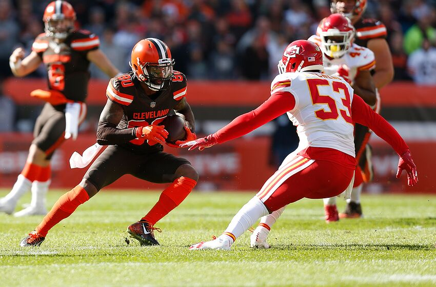 Cleveland Browns receiver corps overcrowded  60fb08503
