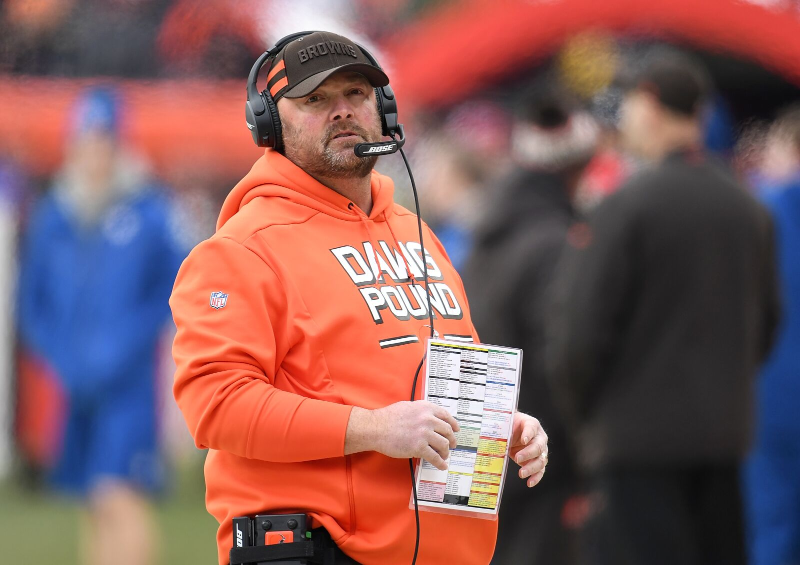 Are the Cleveland Browns facing internal discord?
