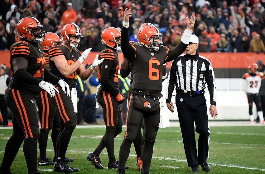 Baker Mayfield stares down Hue Jackson as Cleveland Browns knock off Bengals 6985dcdf0