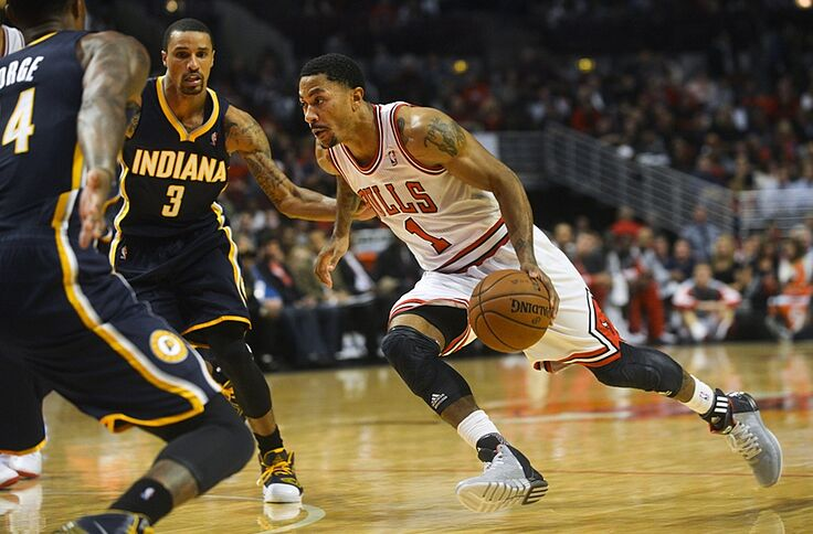0943a147021 ThrowbackThursday  Pre-ACL tear Derrick Rose torches Indiana for 39 ...