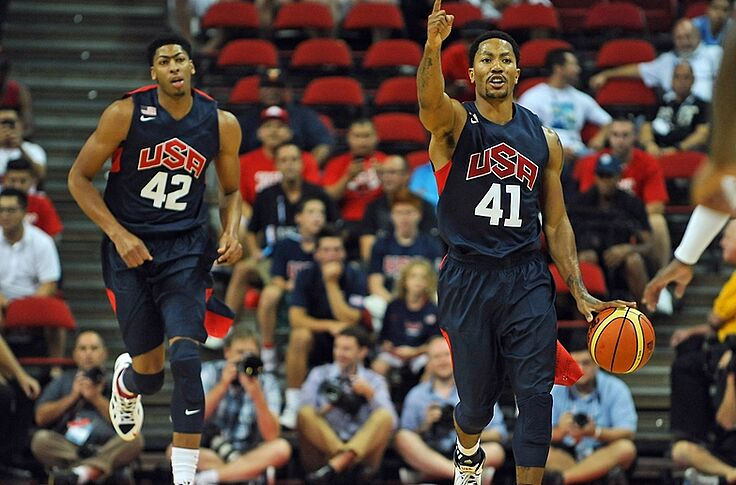 508c45d2093 Derrick Rose and Anthony Davis  The first (of hopefully many) chapters