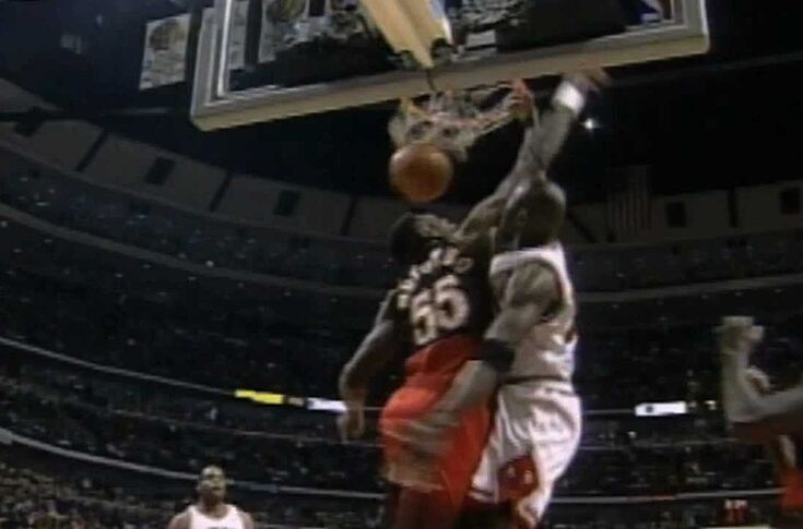 0f7522b9787 Michael Jordan finally got his chance and took advantage of it. The game's  best player