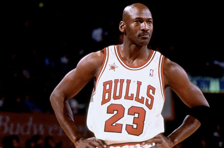 c783bd6ff63095 Michael Jordan led all scorers with 23 points in the 1998 NBA All-Star Game
