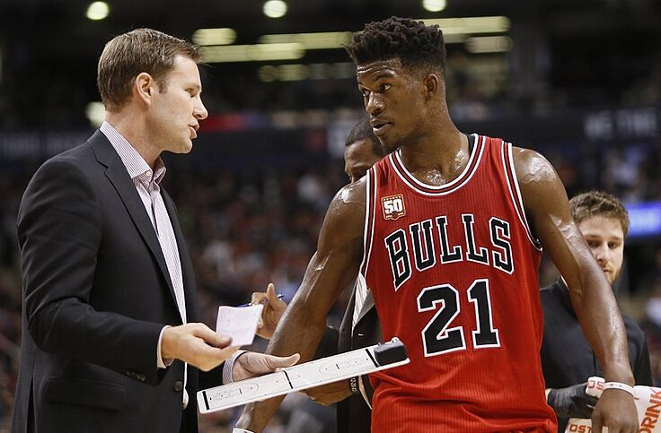 0bc2e03711a6 Chicago Bulls  Jimmy Butler Goes Bonkers in win over Toronto Raptors